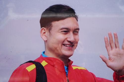 Đặng Văn Lâm trong cuốn sách ảnh của Nguyễn Á.