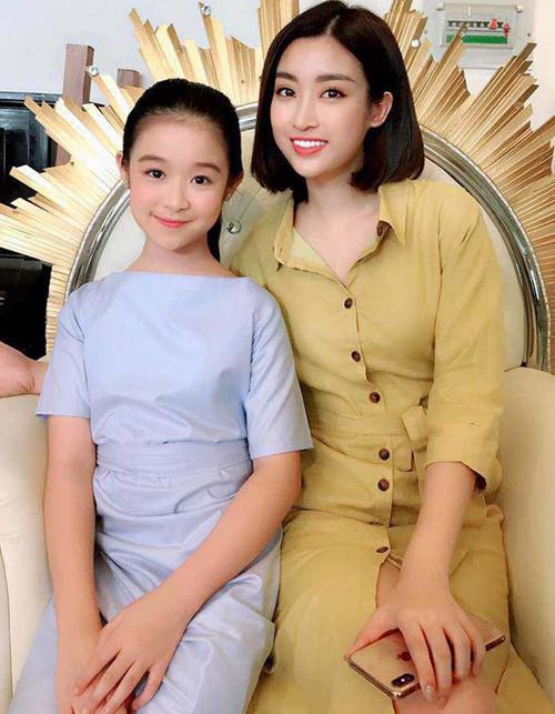 Bảo Ngọc nhiều lần gặp gỡ, chụp hình cùng nhiều Hoa hậu khác như Mỹ Linh, Ngọc Hân... Nhiều khán giả cho rằng cô nhóc nên đăng ký thi sắc đẹp ngay khi đủ tuổi.