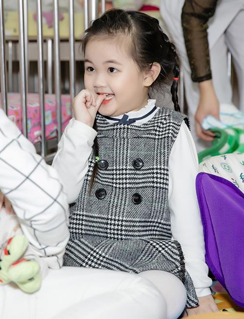 Cô nhóc được dự đoán sẽ thành mỹ nhân tương lai.