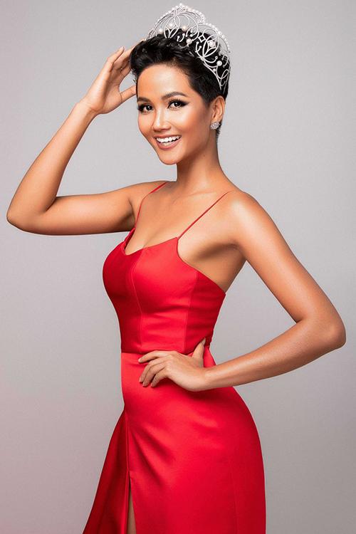 HHen Niê tiếp tục vào Top 10 Hoa hậu của các hoa hậu 2018