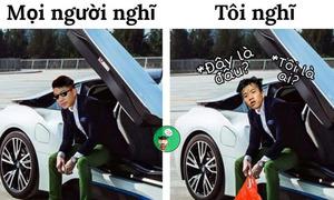 Mua ôtô tiền tỷ, Phan Văn Đức bị chế ảnh say xe nên 'lấy độc trị độc'