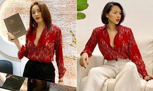 Kỳ Duyên ngày càng tích cực mặc chung đồ với 'tình tin đồn' Minh Triệu