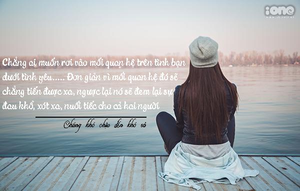 Chẳng ai muốn mình trở thành nhân vật trong câu chuyện đầy éo le. Bạn thèm cảm giác được yêu thương nhưng những gì bạn nhận được đâu giống như cách bạn tưởng.
