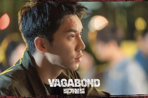 Tạo hình nam tính, rắn rỏi của Lee Seung Gi trên phim.