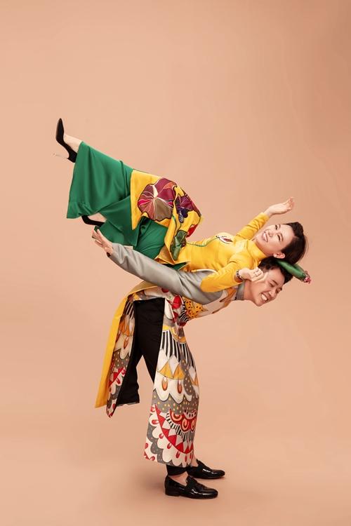 Trấn Thành - Hari Won mặn nồng, nhí nhảnh trong loạt ảnh đón Tết - 5