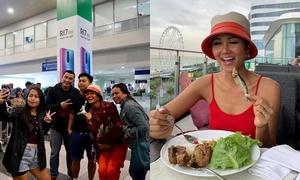 Đến Philippines làm diễn giả, H'Hen Niê được fan đón tận sân bay