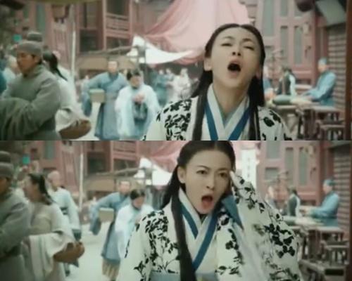 Từ Diên Hy công lược sang Hạo Lan truyện diễn xuất của Ngô Cẩn Ngôn không có chút tiến bộ nào. Cô nàng thường xuyên lên hình trong tình trạng trợn mắt há mồm làm cho người xem vô cùng ngán ngẩm.