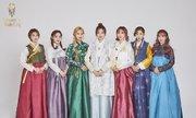 Idol Hàn xúng xính diện hanbok đón Tết Kỷ Hợi
