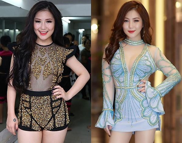 Việc giảm cân thành công giúp Hương Tràm tự tin hơn khi mặc những bộ cánh sexy theo phong cách mà cô theo đuổi. Khi lên sân khấu, nữ ca sĩ cũng dễ dàng hơn trong việc thực hiện các động tác vũ đạo.