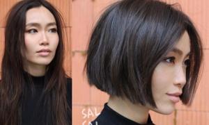 Cắt tóc cũng có thể khiến con gái lột xác không ngờ