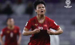 'Siêu phẩm sút phạt' của Quang Hải là bàn thắng đẹp nhất Asian Cup 2019