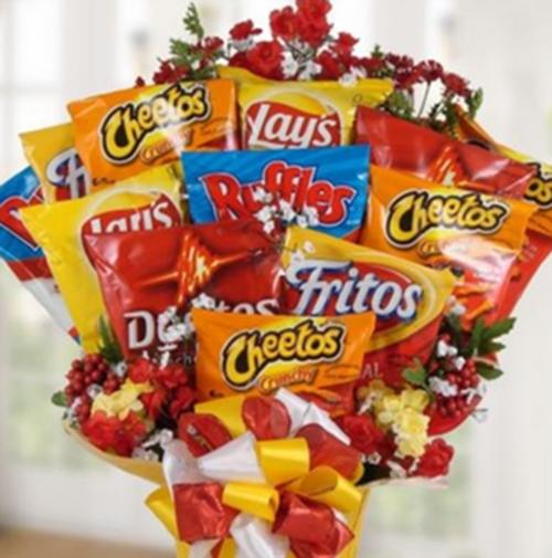 10 bó hoa vừa lạ đời vừa... ăn được tặng nàng ngày Valentine  - 6