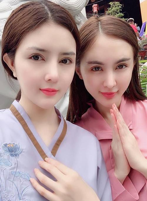 Lilly Luta và Kelly Nguyễn ngày càng giống nhau như chị em sinh đôi.