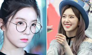 Biểu cảm lạnh băng của Irene phút chốc 'tan chảy' khi gặp fan