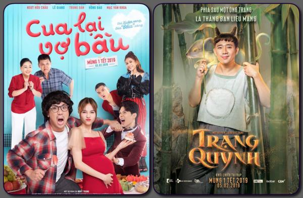 Trấn Thành có mặt trong cả hai bộ phim Tết.