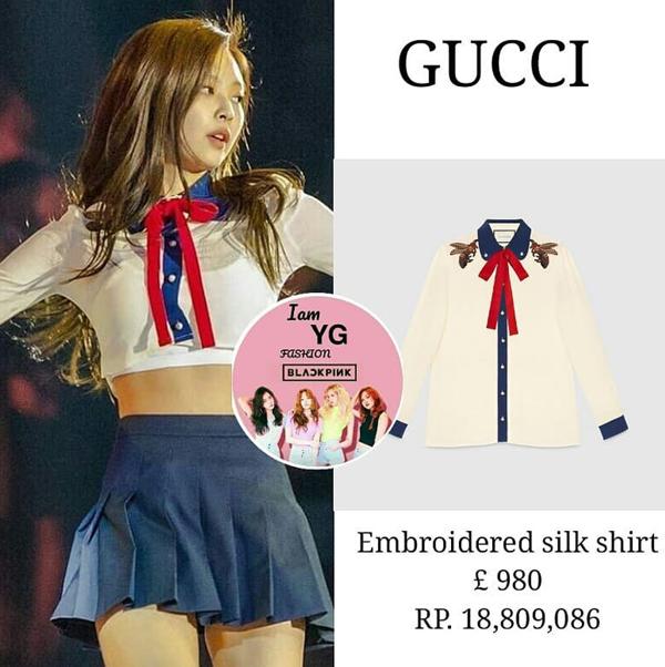 & cho đến Gucci, tất cả những món đồ này đều xấp xỉ 30 triệu đồng, thế nhưng stylish của cô nàng cũng không ngần ngại cắt xén, tạo kiểu để Jennie khoe được body chuẩn của mình.