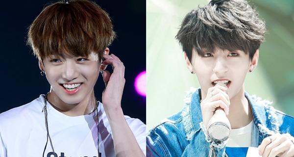 Khi mới debut, thành viên Y (phải) của nhóm Golden Child gây xôn xao cộng đồng Kpop vì dung mạo giống Jung Kook (BTS) bất ngờ. Y sinh năm 1995, hơn Jung Kook 2 tuổi.