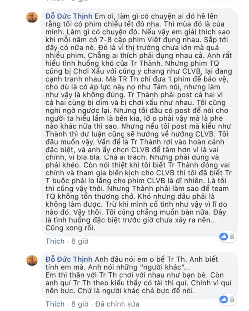 Chia sẻ của đạo diễn Đức Thịnh.