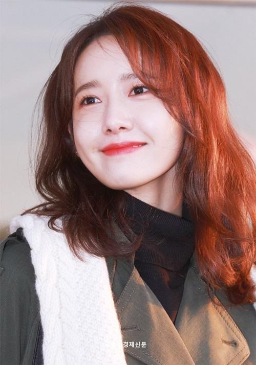 Ngoại hình của Yoon Ah không thay đổi nhiều so với thời debut.