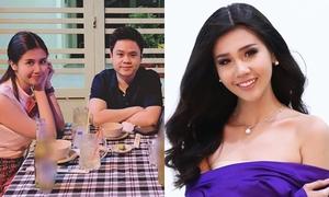 Thí sinh 'Hoa hậu Hoàn vũ Việt Nam' phủ nhận hẹn hò thiếu gia Phan Thành