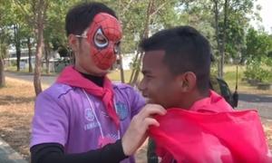 Xuân Trường hóa 'người nhện' trong buổi tập thứ hai với CLB Buriram United
