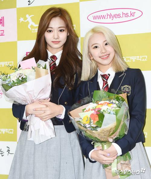 Cùng với Tzuyu, em út TwiceChae Young cũng tốt nghiệp ngày hôm nay.