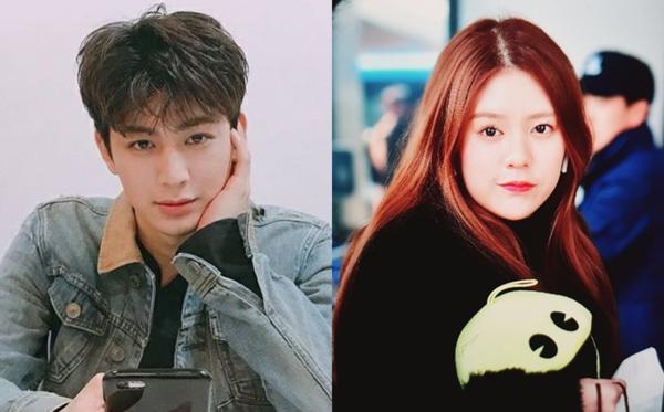 Yun Hyeong (1995) và Daisy (1999) - cặp đôi dính nghi án hẹn hò.