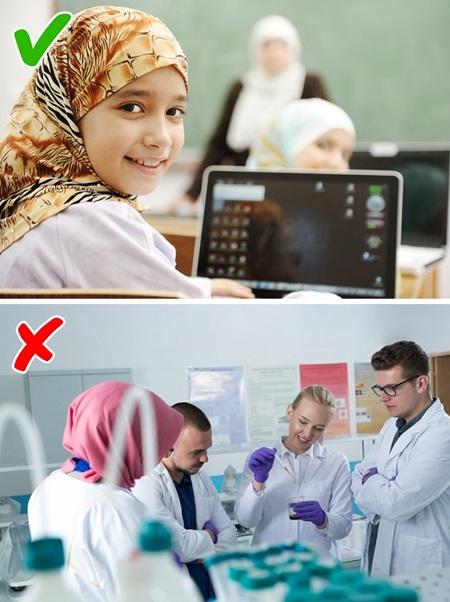 Con gái Ả Rập khổ sở với những quy tắc hà khắc - 5