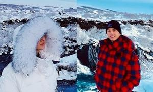 Bảo Anh - Hồ Quang Hiếu bị nghi tái hợp, cùng đi du lịch Iceland