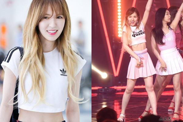 Trước đó, Wendy cũng từng khiến cộng đồng Kpop bị sốc vì gầy trơ xương sườn trong đợt quảng bá Red Flavor  năm 2017. Khi mới ra mắt, Wendy bị chê béo, đùi to, điều này khiến nữ  idol bị ám ảnh cân nặng. Cô liên tục giảm cân và gầy đi trong mỗi đợt  comeback. Hiện tại Wendy đã biết cách giữ cân bằng cân nặng để có thân hình đẹp mà vẫn đủ sức khỏe.