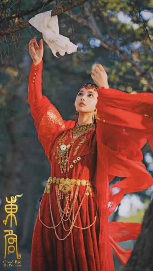 Tạo hình rực rỡ của Tiểu Phong trong phim.
