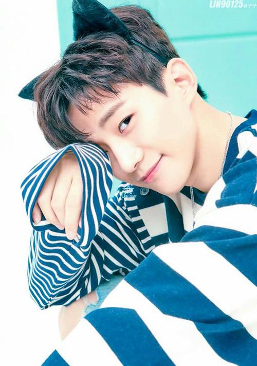 Jun Ho chỉ cần mỉn cười nhẹ, làm aegyo là đủ khiến chị em tan chảy. Nét cuốn hút trái ngược giúp anh chàng tạo cá tính riêng trong nhóm.