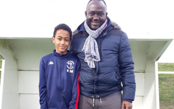 Kylian Mbappe (11 tuổi) được đội bóngPSG để ý.