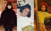 Nhận dạng mỹ nhân Hoa ngữ từ thuở bé xíu