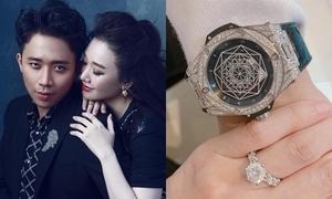Quà kỷ niệm cưới tiền tỷ của Hari Won - Trấn Thành