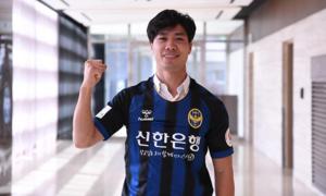 Incheon United làm phim về ngày đầu của Công Phượng ở Hàn