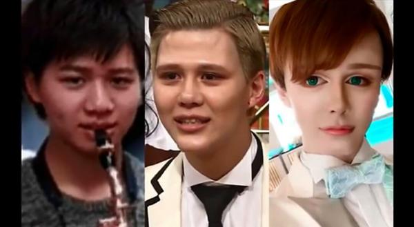 Từ một thành niên Nhật Bản bình thường, Masashi Kuwata khiến ai nấy đều choáng váng với sự biến đổi vẻ ngoài. Anh chàng đen nhẻm trở thành búp bê với làn da trắng và đôi mắt xanh to tròn. Thậm chí, Masashi còn đổi tên thành Matt.