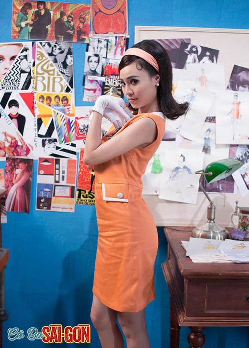 Từng đóng nhiều tác phẩm điện ảnh trước đó nhưng phải đến Cô Ba Sài Gòn, cái tên Ninh Dương Lan Ngọc mới thực sự gây sốt với khán giả trẻ. Vào vai Như Ý - một đệ nhất mỹ nhân của Sài thành xưa - Lan Ngọc được đầu tư phục trang tái hiện rất chân thực phong cách của các quý cô tân thời.