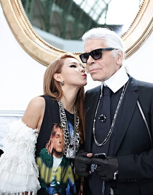 Những sao Hàn từng đứng chung khung hình cùng biểu tượng thời trang Karl Lagerfeld - 3