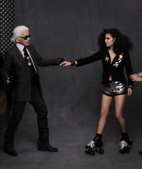 Những sao Hàn từng đứng chung khung hình cùng biểu tượng thời trang Karl Lagerfeld - 10