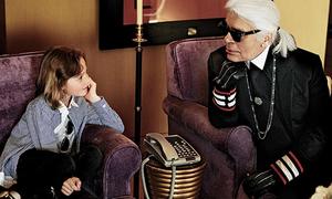 Con trai cưng của Karl Lagerfeld và cuộc sống vương giả như hoàng tử