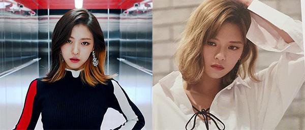 Ngay khi mới debut, Ryu Jin khiến nhiều người nhận xét là có khuôn mặt giống nhiều ngôi sao đình đám. Cô nàng khiến các fan nhớ đến hình ảnh của Jeong Yeon (Twice). Hai ngôi sao nhà JYP có đôi mắt khá giống nhau.