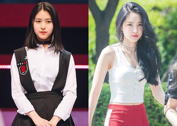 Gương mặt tròn của thành viên ITZY rất giống với Na Eun (Apink). Cả hai đều có hình tượng thơ ngây, trong sáng.