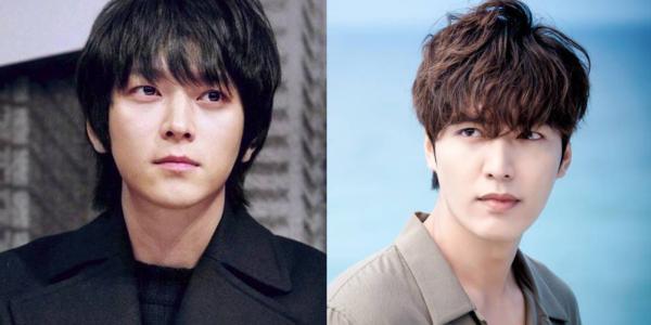 Kang Dong Won và Lee Min Ho.