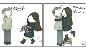 Chuyện vui - buồn của nàng 'chân ngắn'