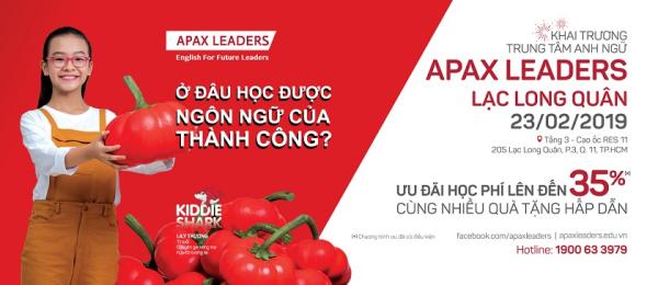 Apax Leaders khai khai trương trung tâm mới