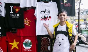 Ông chủ in áo Trump - Kim bán được gần 500 cái chưa đầy 24 giờ