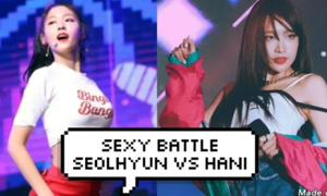 Seol Hyun (AOA) và Hani (EXID) ai sexy hơn?