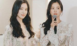 Đẳng cấp chọn đồ sự kiện không hở vẫn hút mắt của Song Hye Kyo