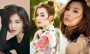 Vẻ đẹp của các 'quốc bảo nhan sắc' showbiz Hàn - Trung - Nhật khác nhau thế nào?